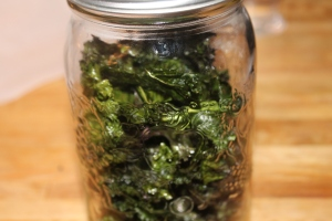 crispy, perfect kale chips